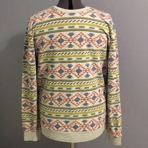 H&M Aztec pattern crew hoodie/ sweater